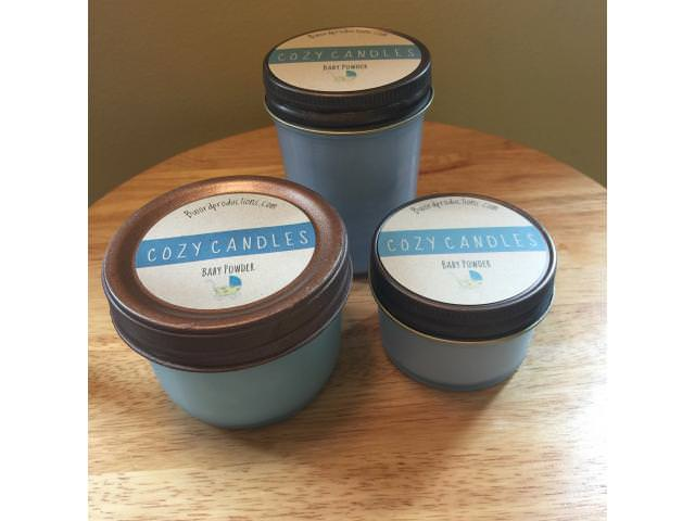 Free Scented Cozy Candle!