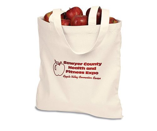 Free Cotton Sheeting Natural Economy Tote!