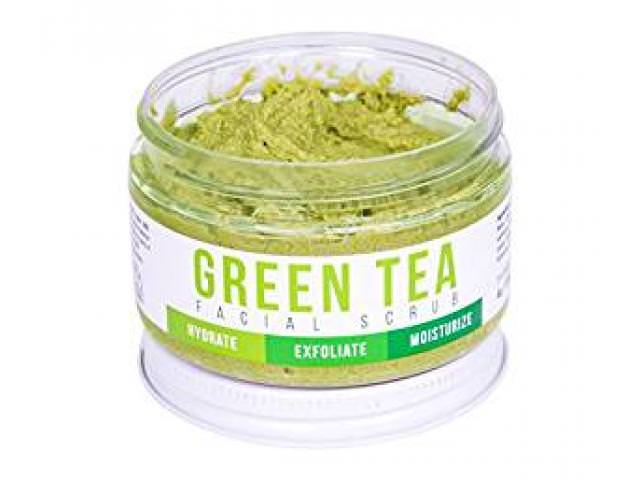 Free Green Tea Detox Face Scrub!