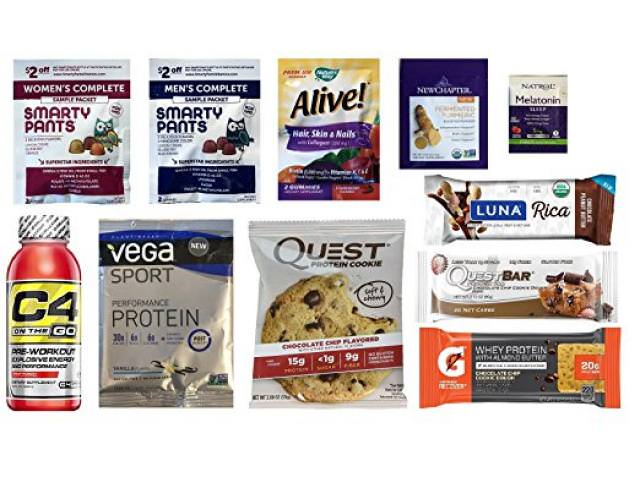 Free Nutrition & Wellness Sample Box!