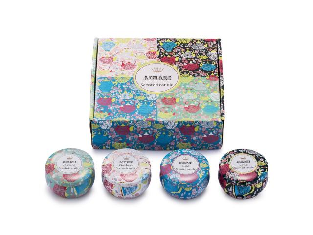 Free Scented Candles Jasmine, Lotus, Lilac Blossoms And White Gardenia!