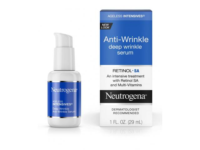 Free Neutrogena Anti-Wrinkle Serum!