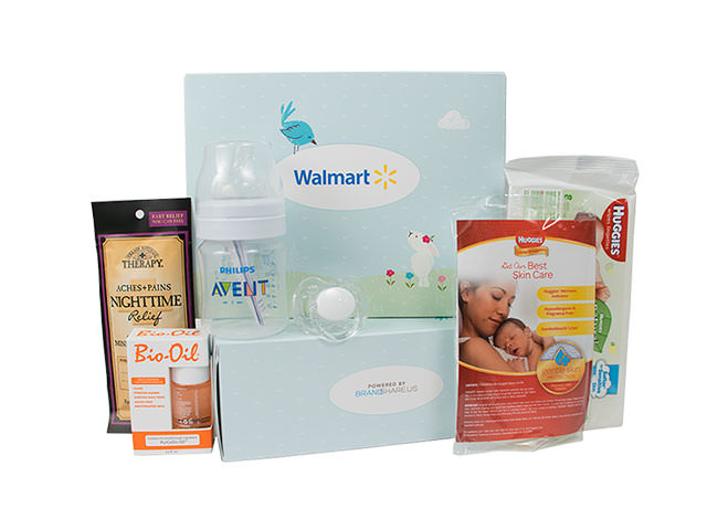 Free Walmart Baby Welcome Box!