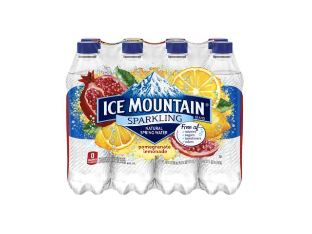Free 8-Pack Of Sparkling Ice Mountain Brand Natural Spring Water!