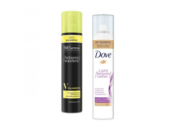 Free Dry Shampoo From Tresemme/Dove!