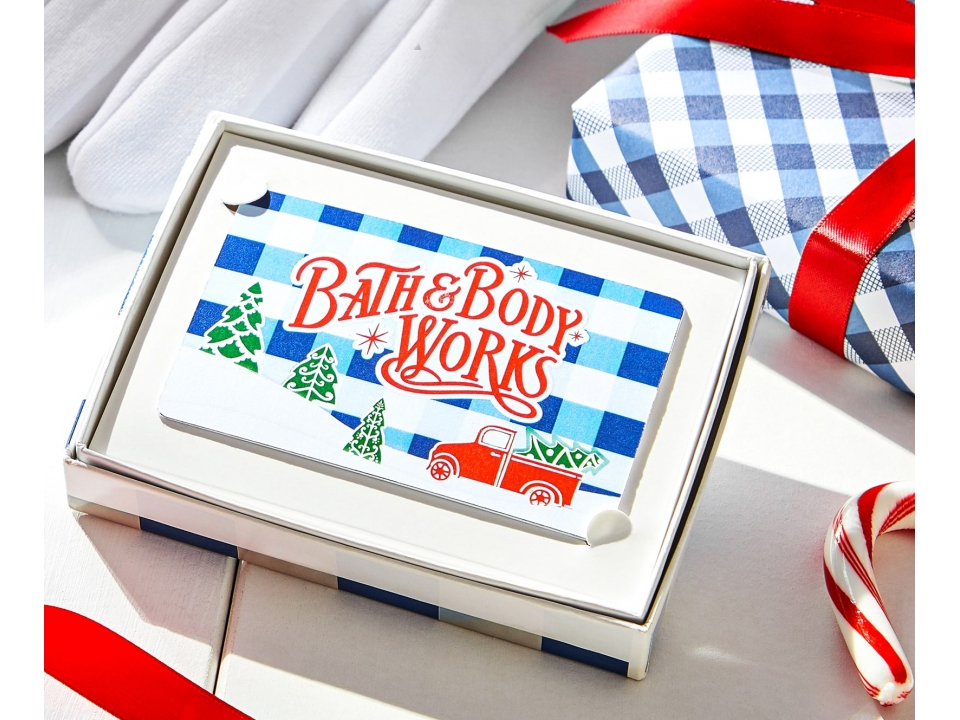 Free $100 Gift Card From Bath And Body Works!