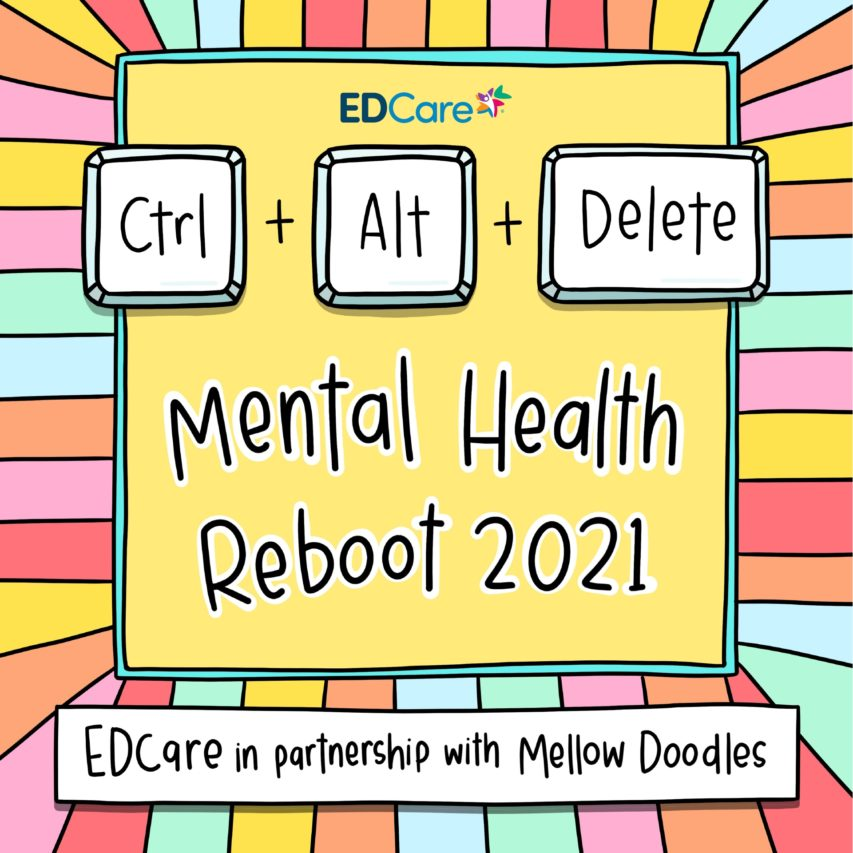 Free 2021 Mental Health Reboot Calendar By EDC
