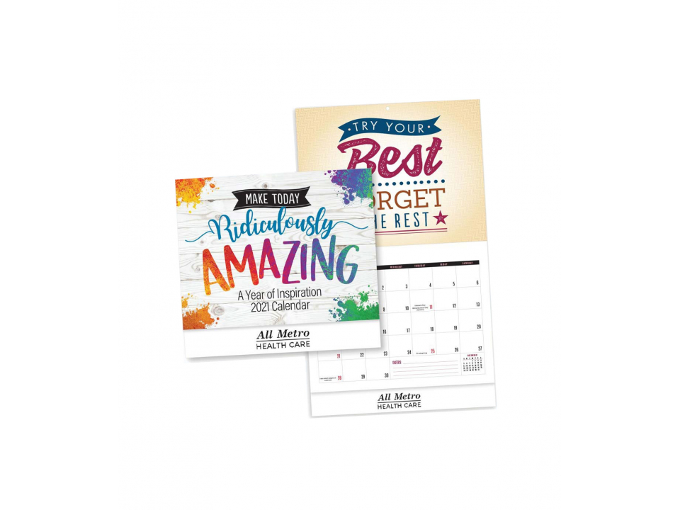 Free 2021 Wall Calendar From All Metro