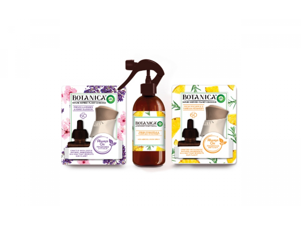 Free Air Wick Botanica Scented Oil Kit