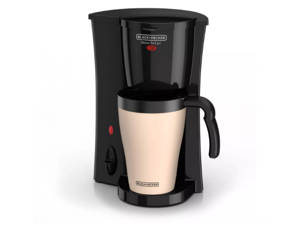 Free Personal Coffee Maker With Travel Mug By Black&Decker