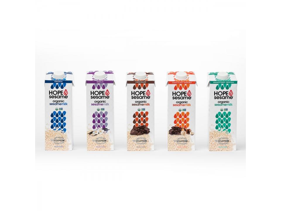 Check Out Free Hope & Sesame's Sesame Milk!