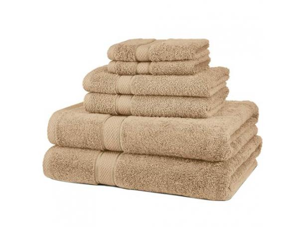 Free 6 Piece Blended Egyptian Cotton Bath Towel Set From Pinzon!