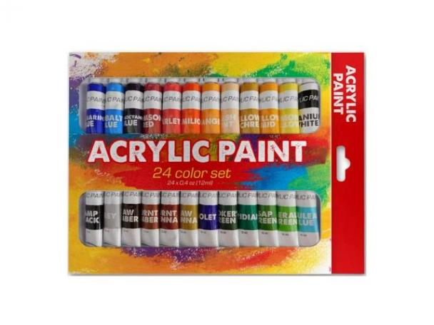 Free Benicci Acrylic Paint Set!