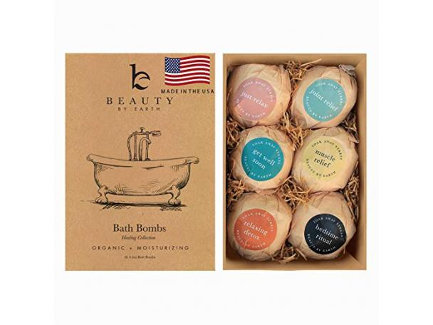 Free Beauty By Earth Bath Bombs Gift Set!