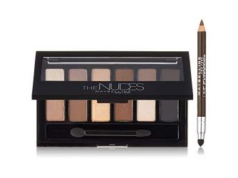 New York Nudes Palette + Eye Liner From Maybelline Sweepstakes!