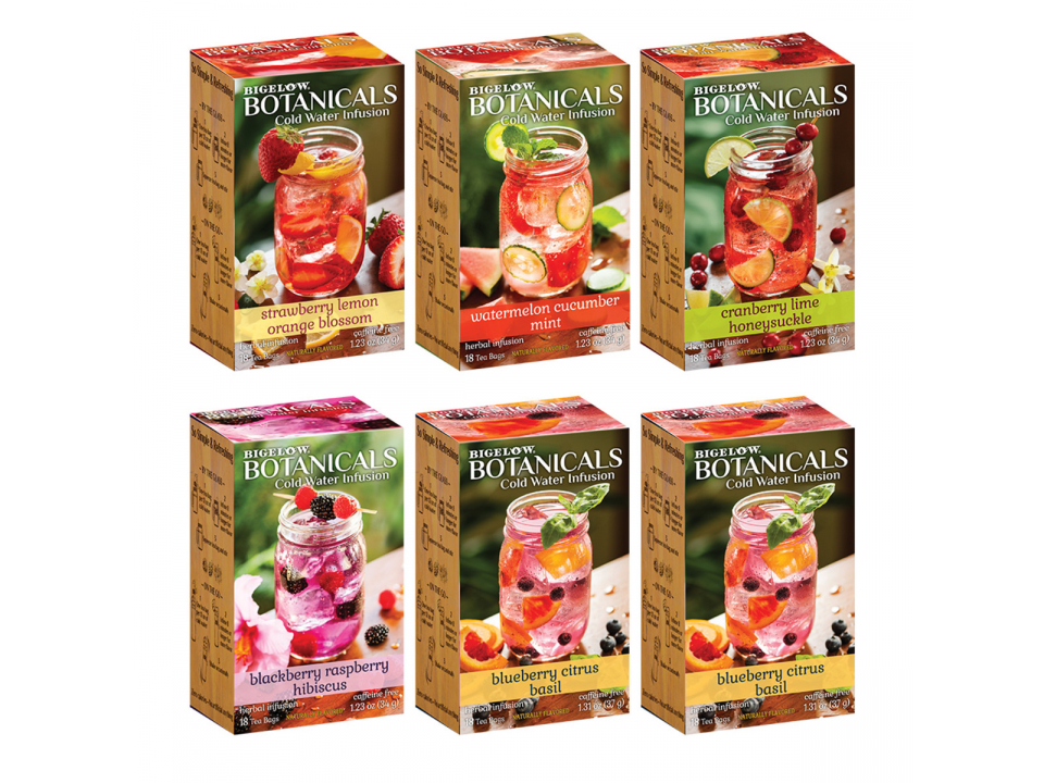 Free Bigelow Botanicals Cold Water Infusion Tea