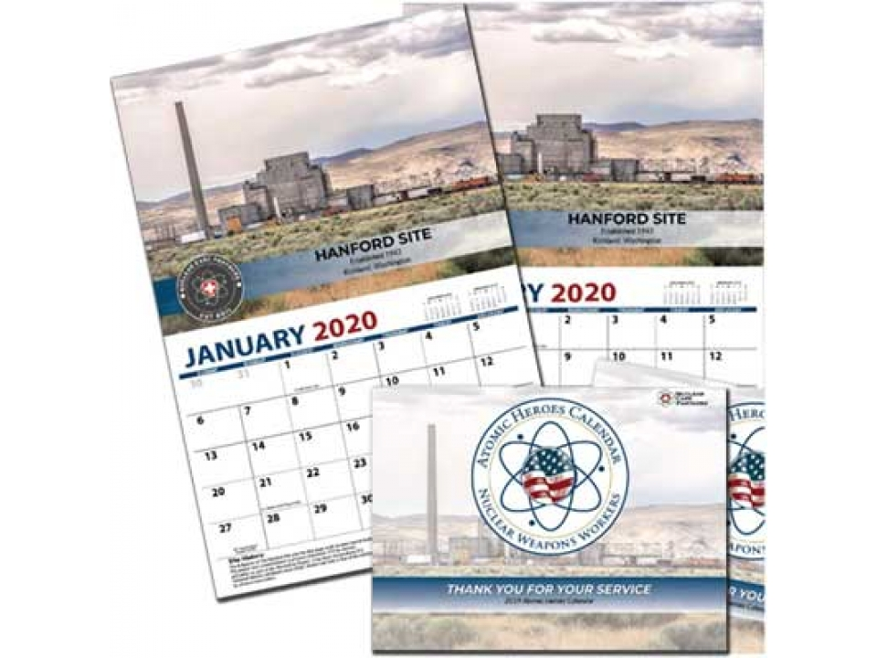 Free 2020 Atomic Heroes Calendar From NCP