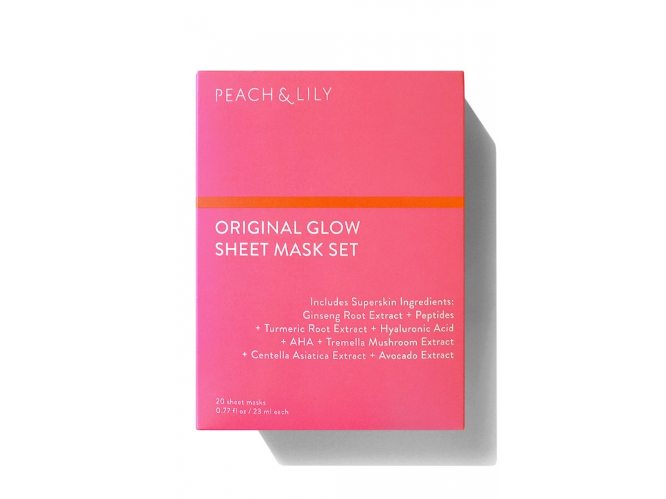 Free Original Glow Sheet Mask From Peach & Lily!