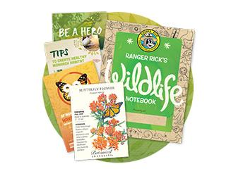 Free Seed Packet + Wildlife Notebook From NWF!