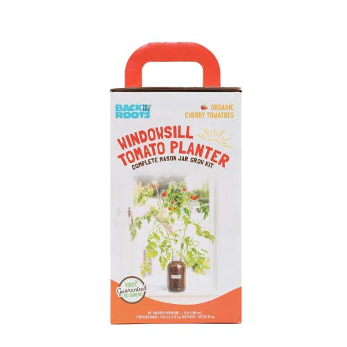 Free Back To The Roots Windowsill Tomato Planter