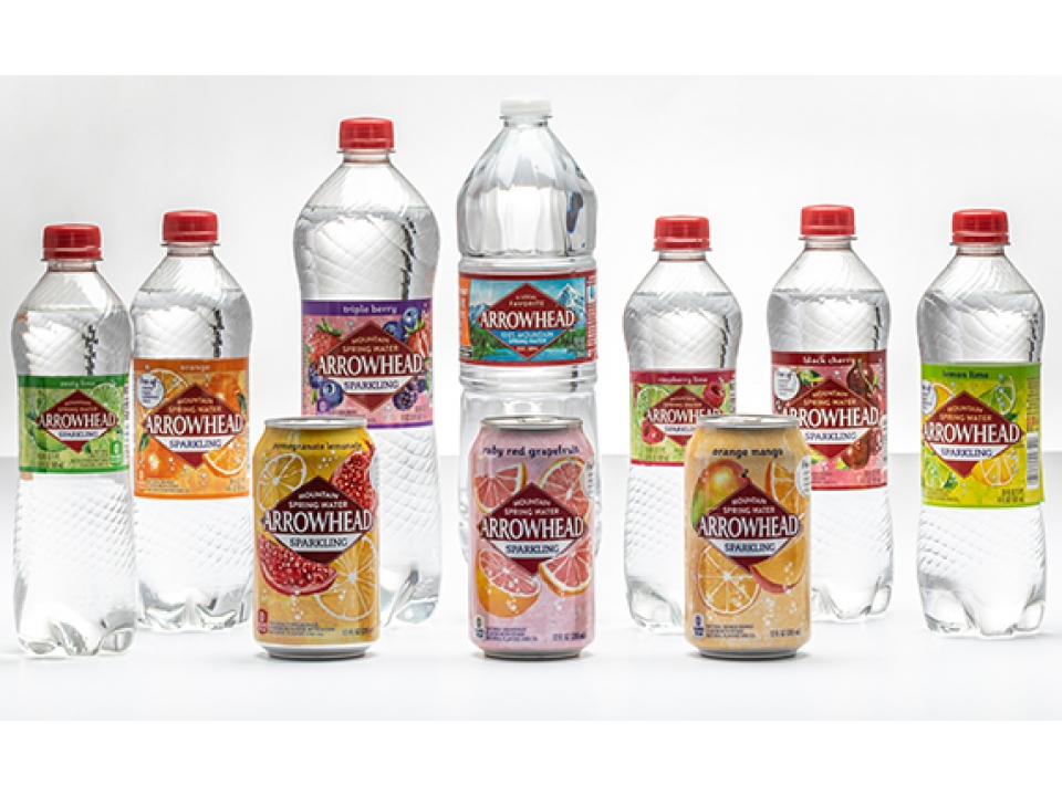 Free Arrowhead 8-Pack Sparkling Spring Water