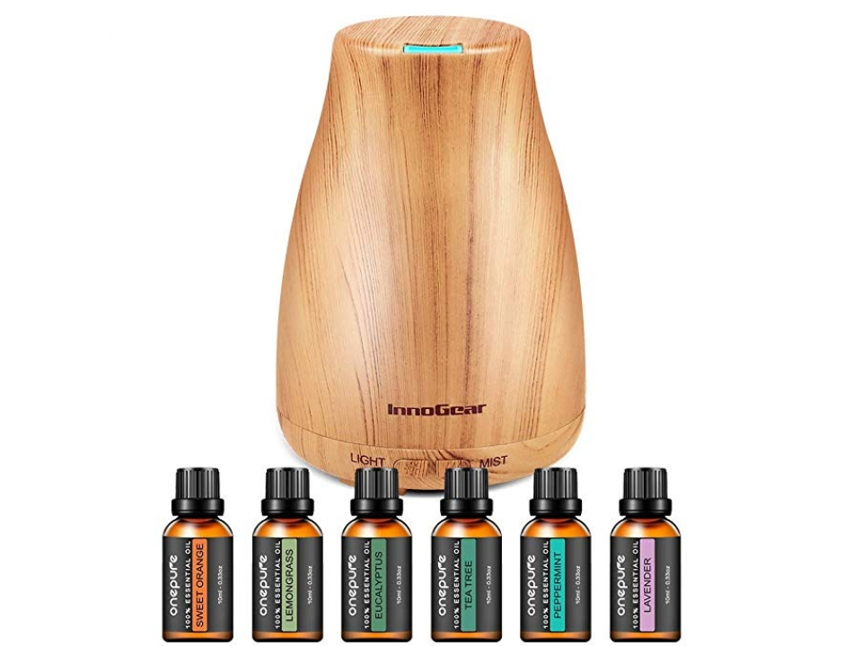 Free InnoGear Aromatherapy Diffuser With Essential Oils