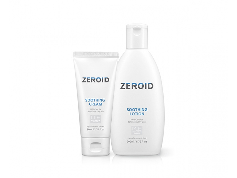 Free ZEROID Soothing Cream