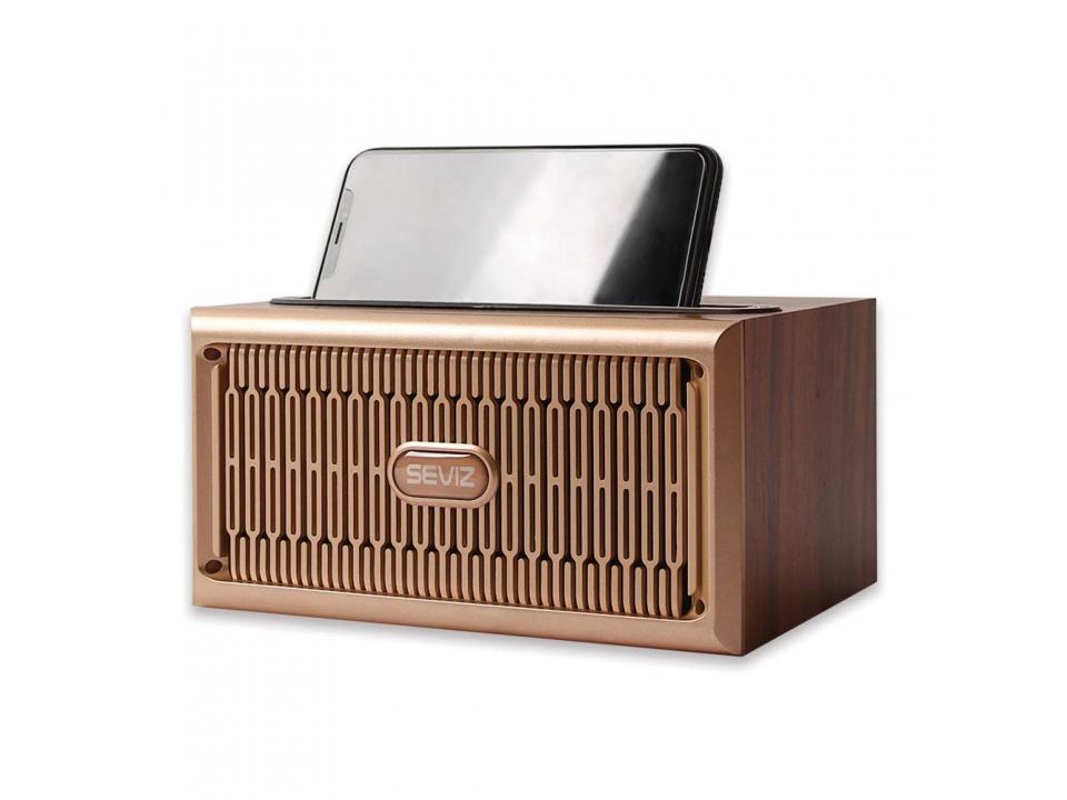 Free SEVIZ Retro Bluetooth Speaker