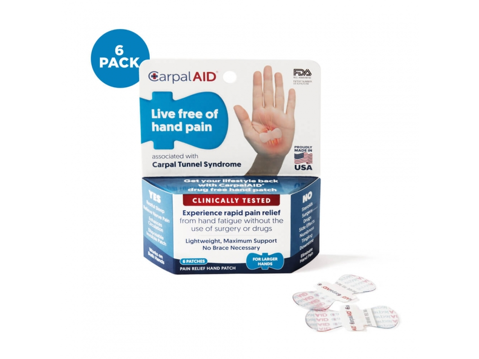 Free Hand Pain Solution From CarpalAID