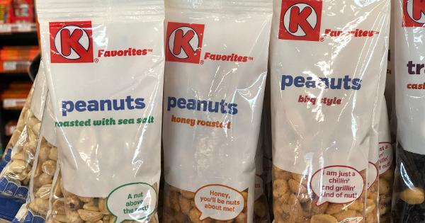 Free Bags Of Nuts (Honey & Sea Salt) From Circle K