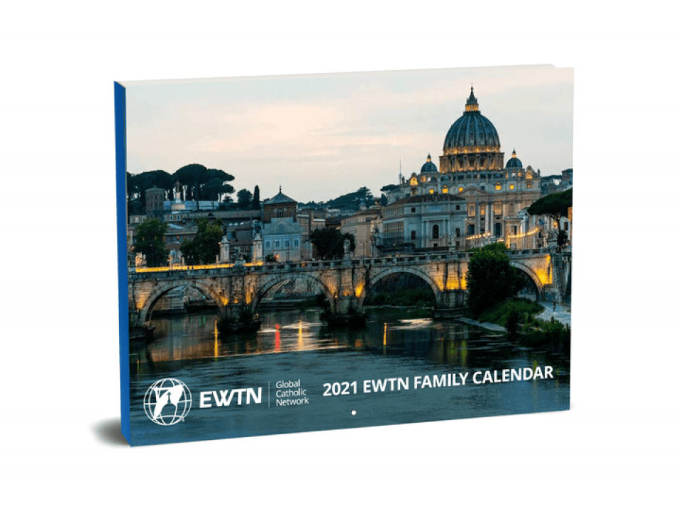 Free 2021 Wall Calendar From EWTN