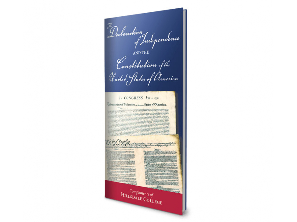 Free Hillsdale College Pocket Sized Constitution