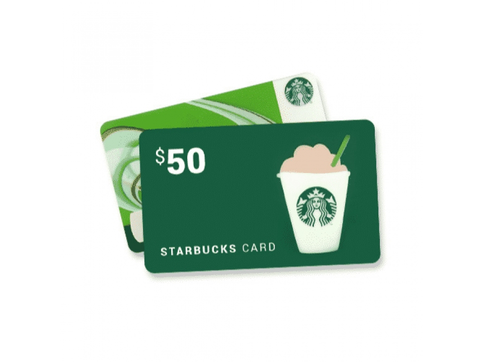 Free Starbucks $100 Gift Card!