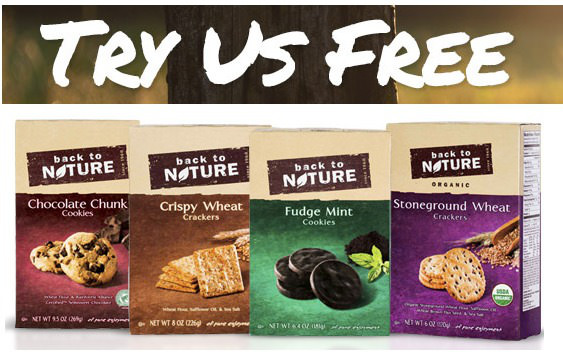 Free Back To Nature Cookies or Crackers! Hurry!