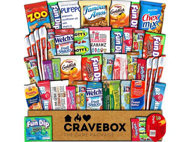 Free Cravebox Ultimate Variety Gift Box Pack!