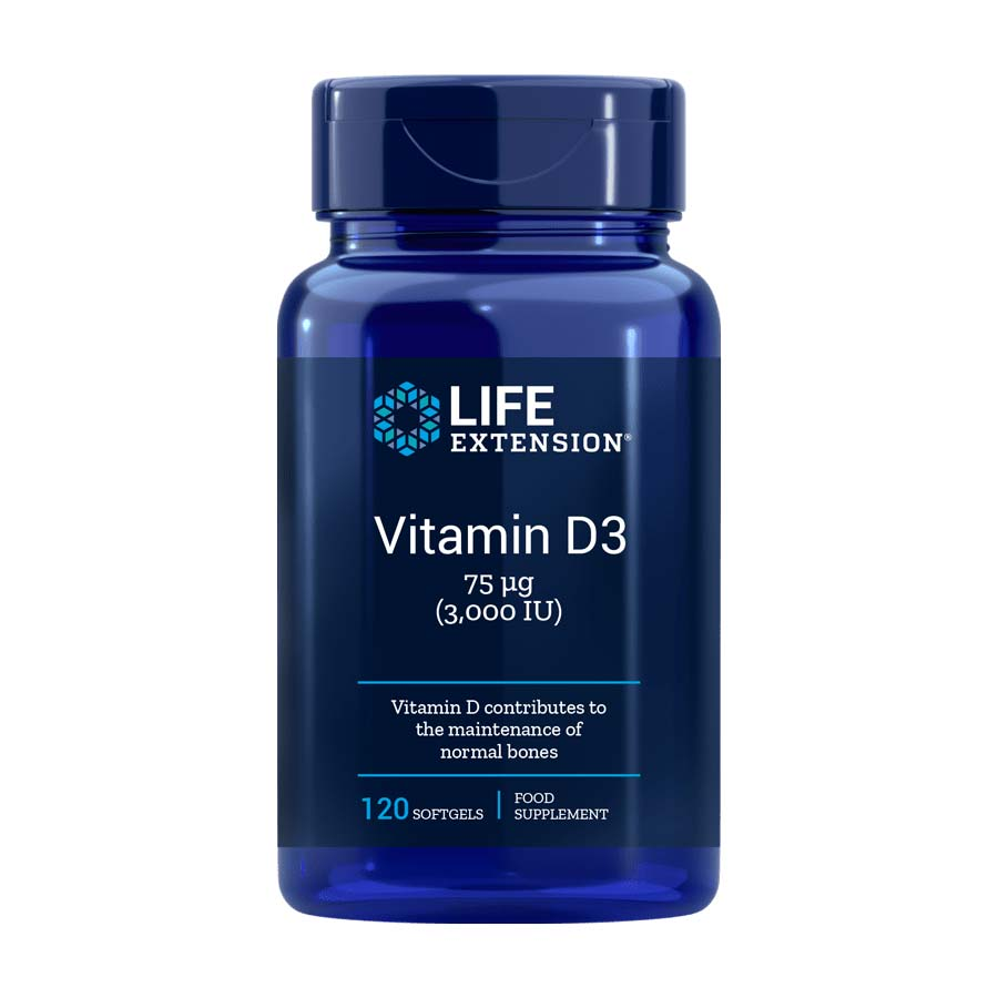 Free Bottle Of Vitamin D3 By Life Extension