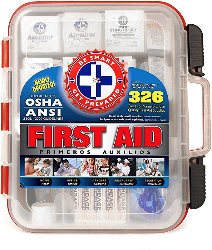 Free Be Smart Get Prepared First Aid Kit