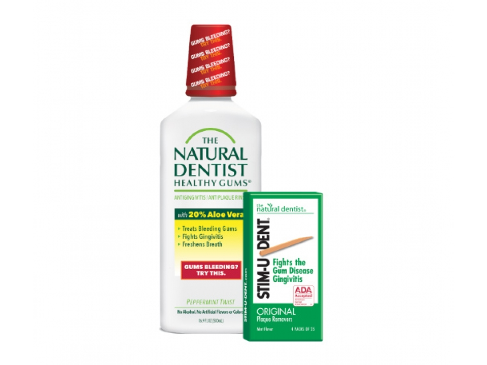 Free Natural Dentist Mouth Rinse+Plaque Removers