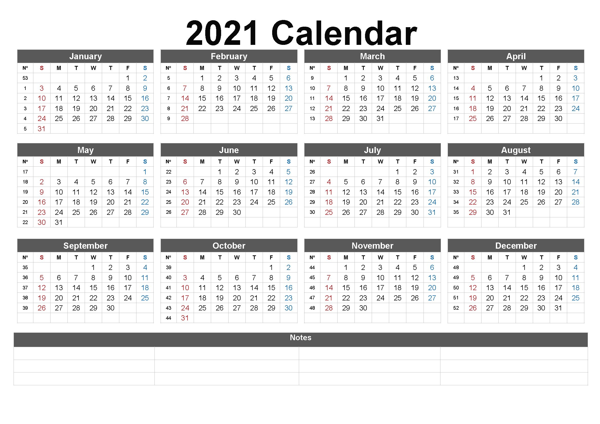 Free 2021 Hotbed Calendar From BioSpace