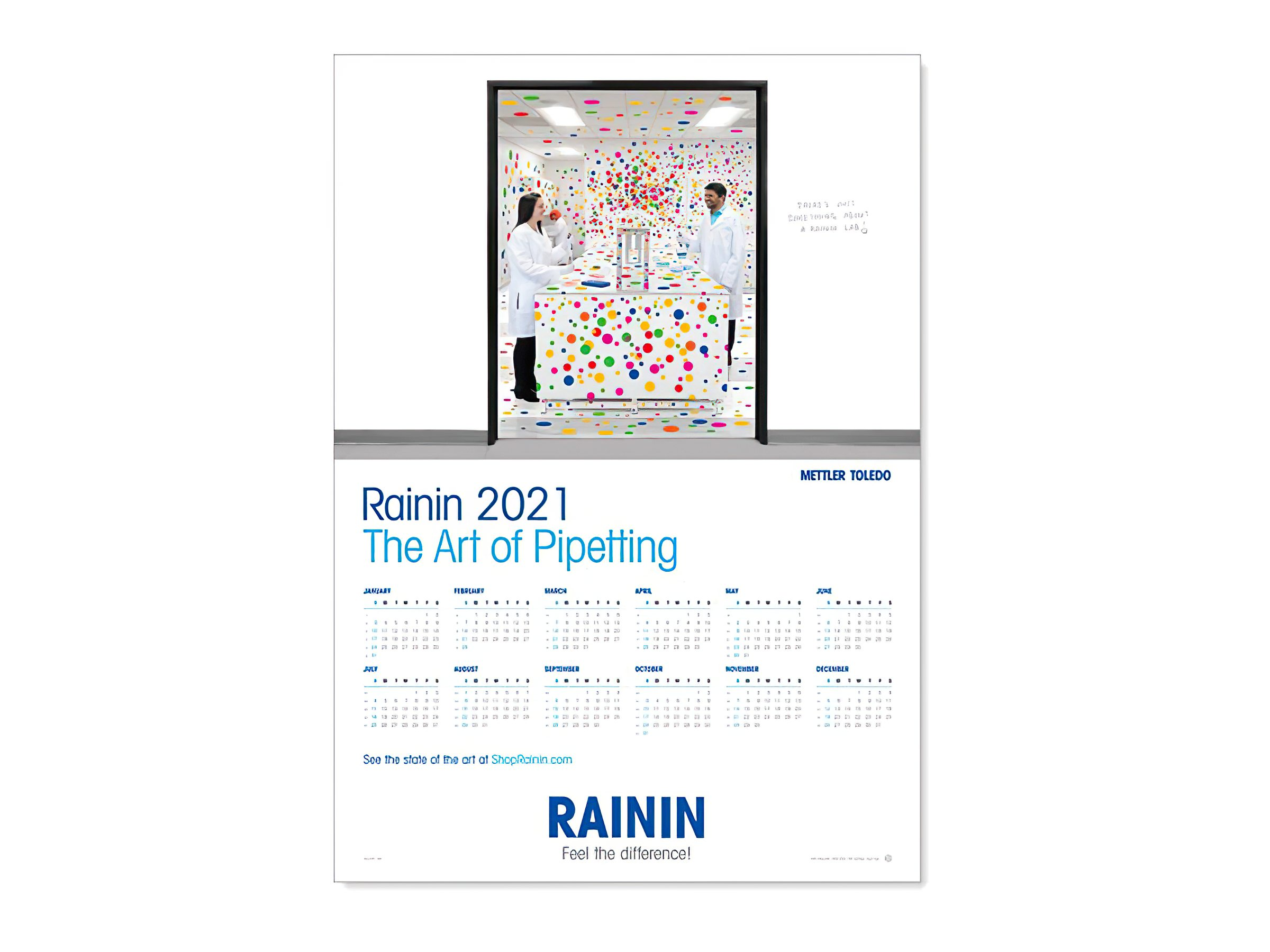 Free 2021 Calendar From Rainin