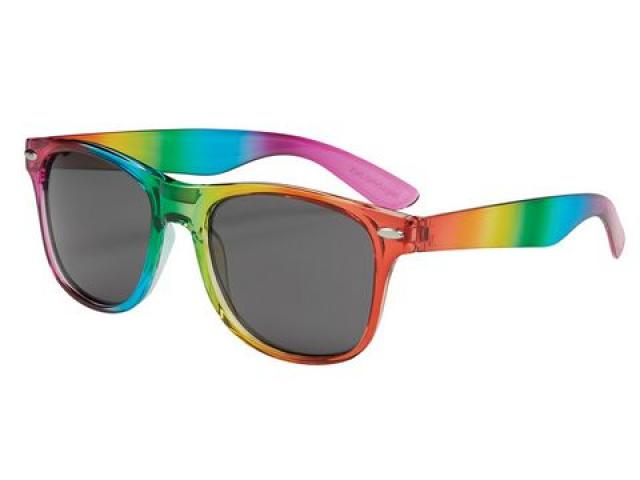 Free Read Proud Listen Proud Rainbow Sunglasses!