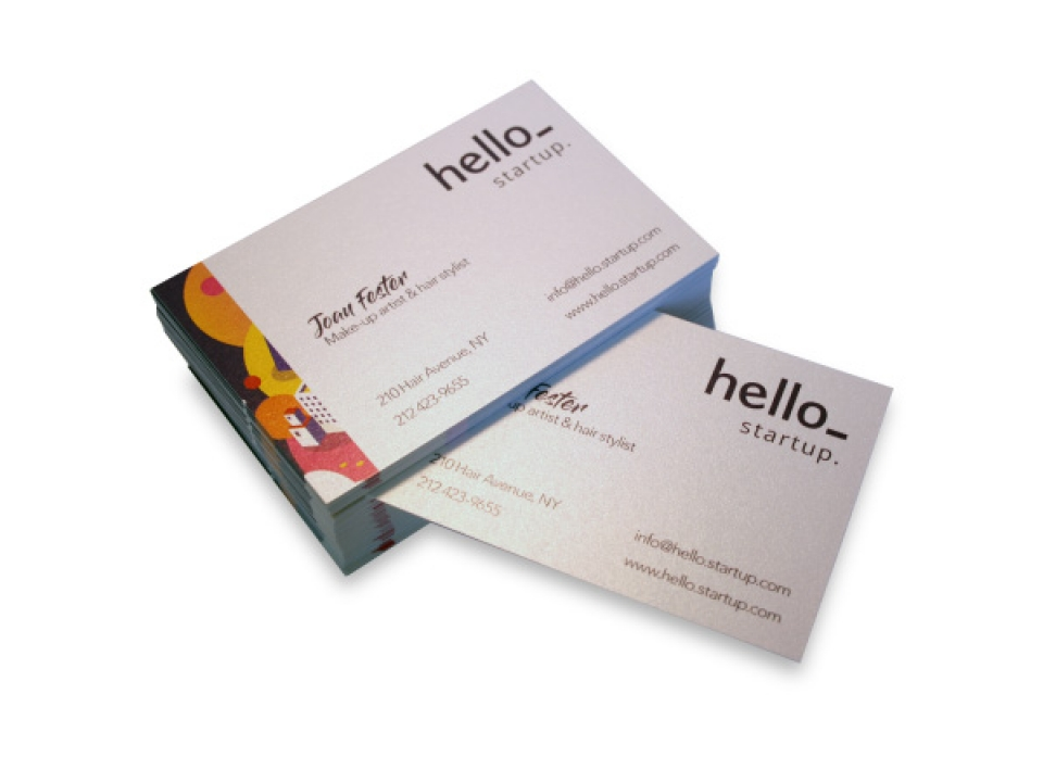 Free 4over4 Business Cards (Pack Of 200)
