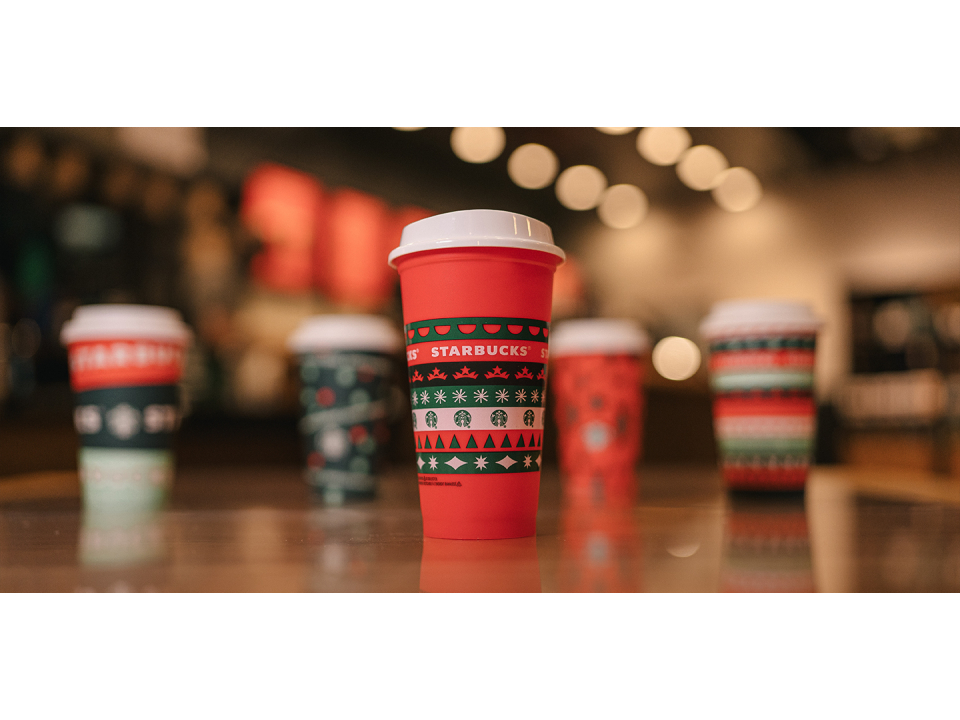 Free Collectible Holiday Cup By Starbucks