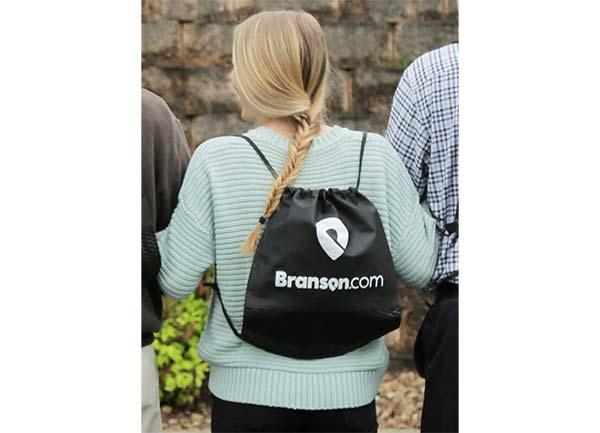 Free Branson Drawstring Backpack