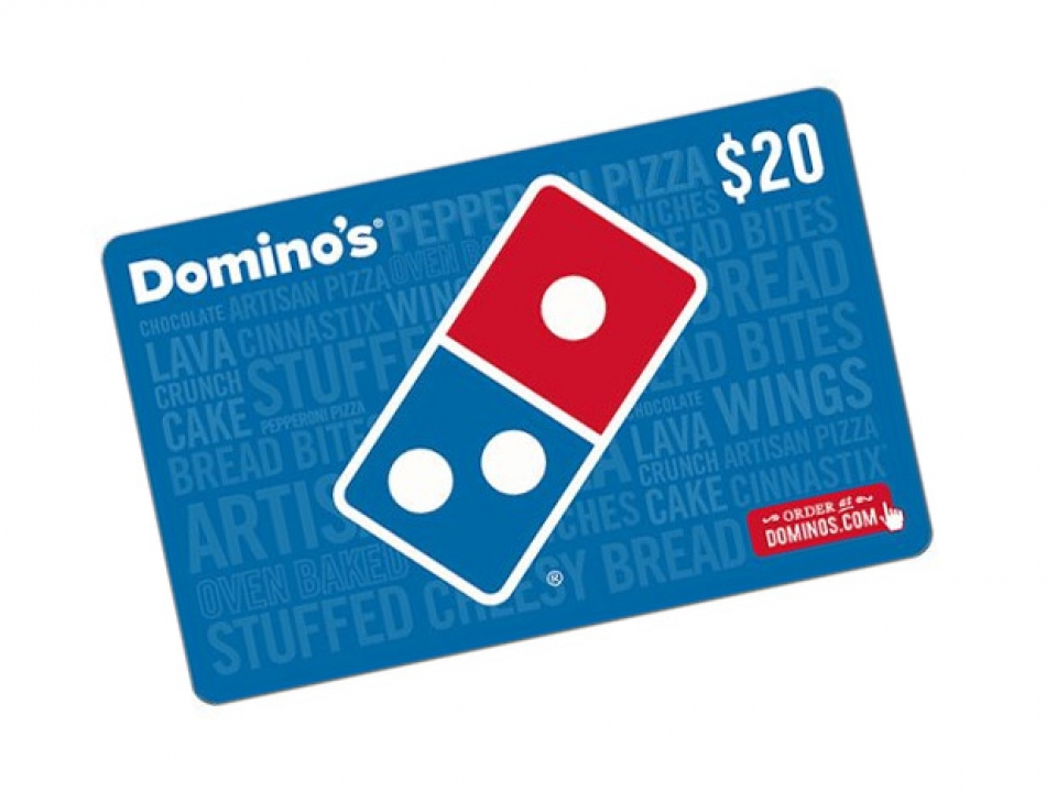 Free Domino's $4-$100 Gift Card