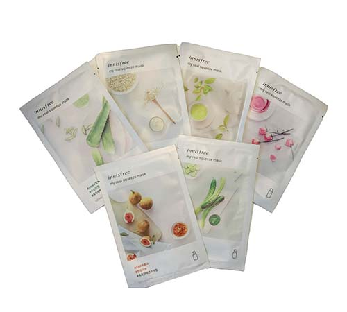 Free innisfree My Real Squeeze Masks