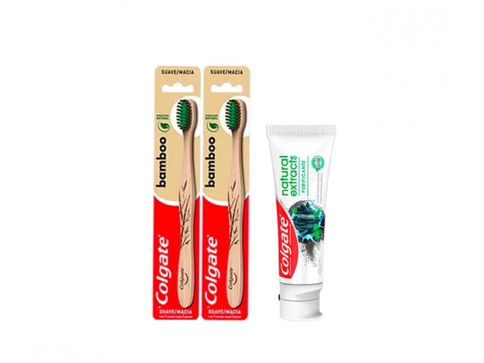 Free Bamboo Toothbrush & Charcoal Toothpaste By Colgate