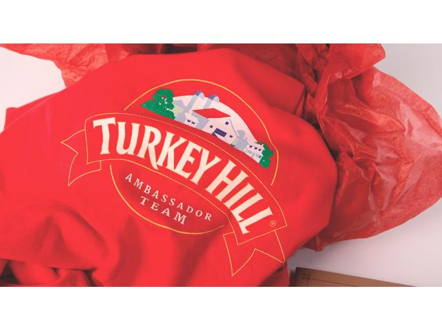Free Turkey Hill T-Shirt + Swag!