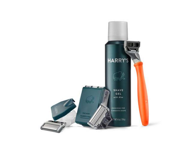 Free Trial Set Of Razors And Shave Gel From HARRY'S!
