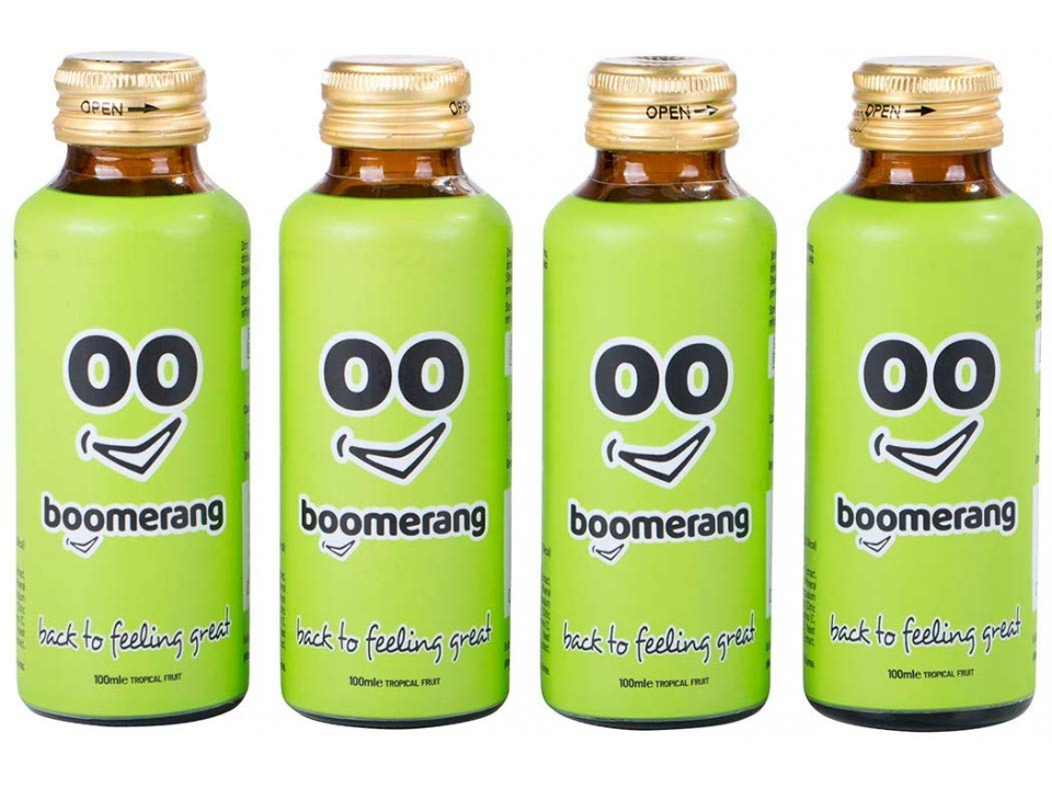 Free Multi-Use Recovery Drink By Boomerang
